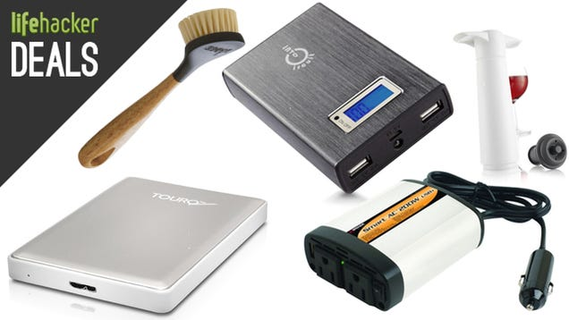 Deals: Faster External Drive, Smarter Gadget Charger, Fresher Wine