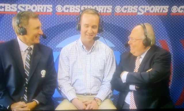 Peyton Manning's So Cute Verne Lundquist And Gary Danielson Could Just Eat Him Right Up (Updated With Video)