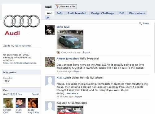 """US Audi President Takes Mulligan On Facebook Over Volt """"Idiots"""" Comment"""