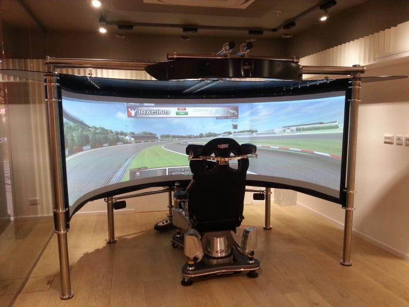 Seen on Reddit:This is what a £125,000 sim racing setup looks like.