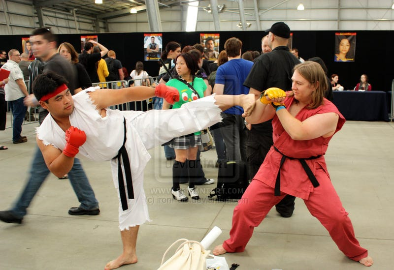 Ryu, Ken, Yoshi, Sheik And Some Creepers Star In Convention Fighter II