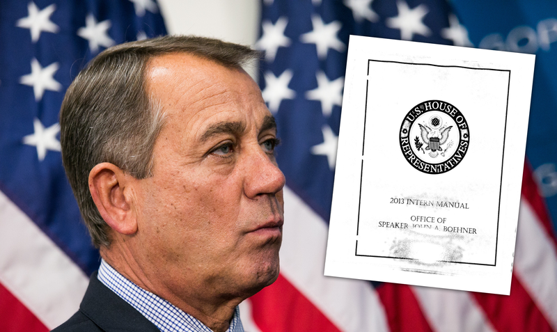 How to Be John Boehner's Bitch: The Official Manual
