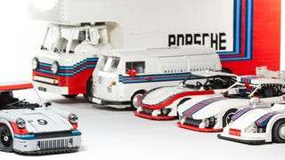 Lego Has To Build This Amazing Martini Porsche Racing Set