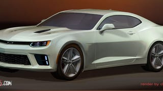 Here Is An Even Better Render Of The 2016 Chevrolet Camaro In White