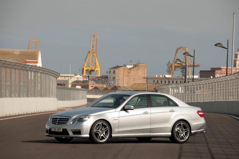 2010 Mercedes E-Class AMG: Seven-Speed Tranny, 518 HP Super-Sedan