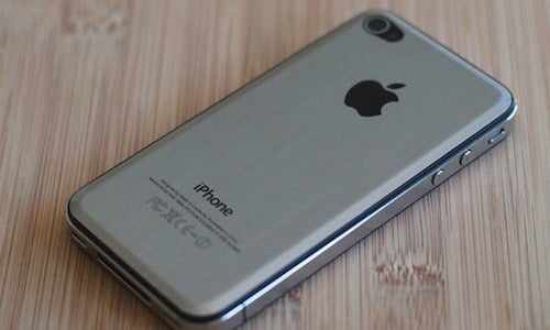 Metal iPhone 4 Cover Protects Your iPhone 4 Without the Bulk of a Case