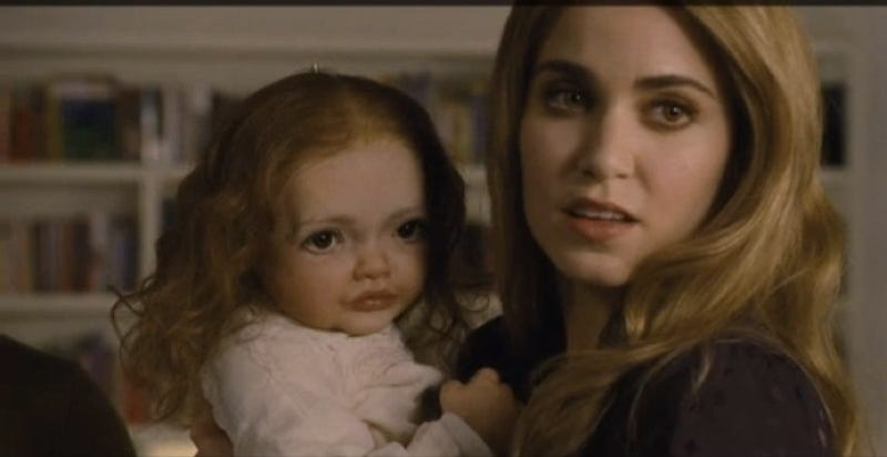 Behold the HORRIFYING robot baby that was too creepy for Twilight