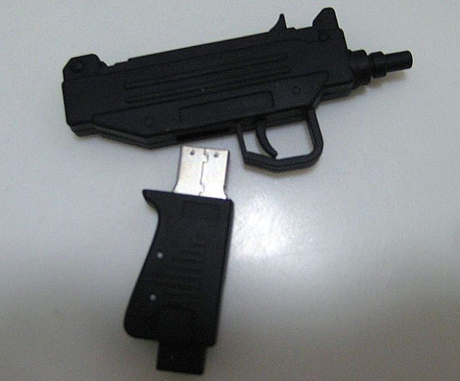 Rap Group Hands Out Uzi-Shaped Flash Drive Album