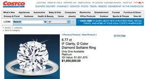 Costco's $1 Million Diamond Ring