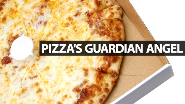 That Plastic Thing Inside the Pizza Box Was Invented 30 Years Ago