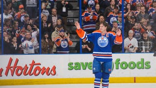 Ryan Smyth Says Goodbye
