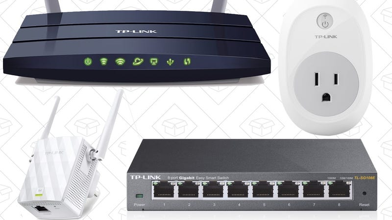 Today's Best Deals: Networking Gear, Lucky Jeans, Snack Bar Sampler, and More