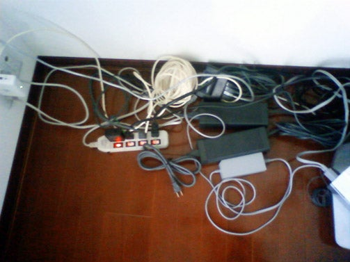 How Should I Organize These Console Cords And Cables?
