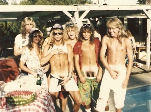 Bret Michaels Has Always Been A Giant Douche (Warning: Pube Pics Included)