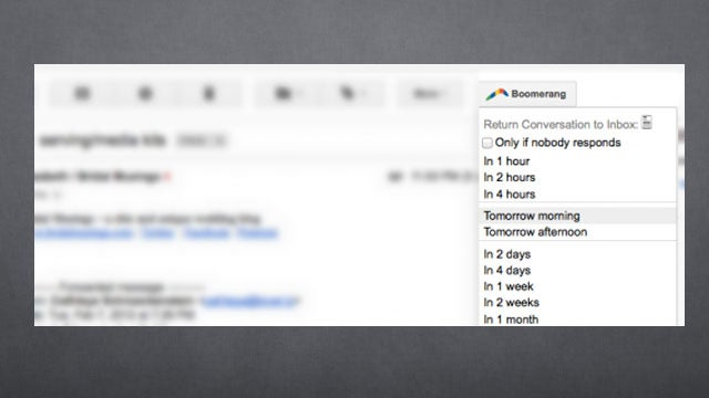 Snooze Your Emails to Keep Your Inbox Empty