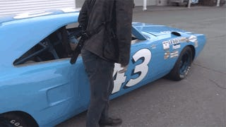 Jump Onboard Richard Petty's 200MPH Plymouth Superbird 45 Years Later