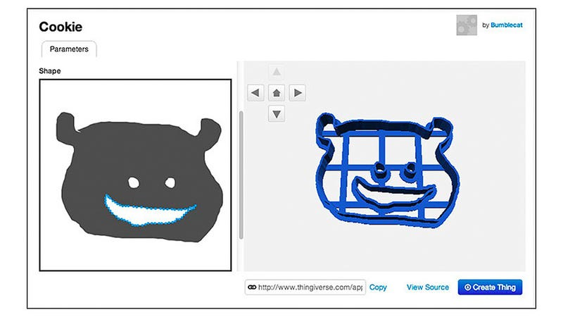 There's Now an Easy Way To 3D-Print Your Own Hand-Drawn Cookie Cutters