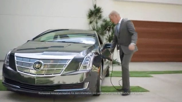 Cadillac's Ad With That Dipshit Reveals A Trivial But Big EV Issue