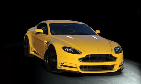 Mansory Modifies V8 Vantage, Because Tasteless People Buy Astons Too