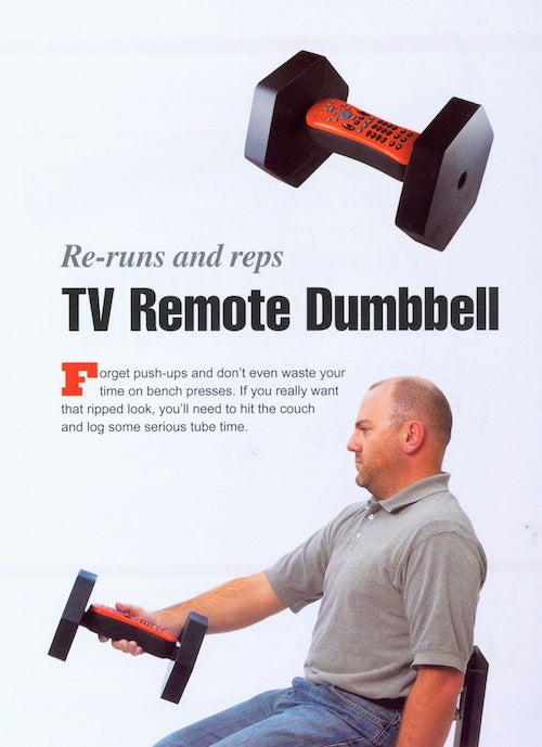 Inventions to Make Watching TV Even Easier Than It Already Is