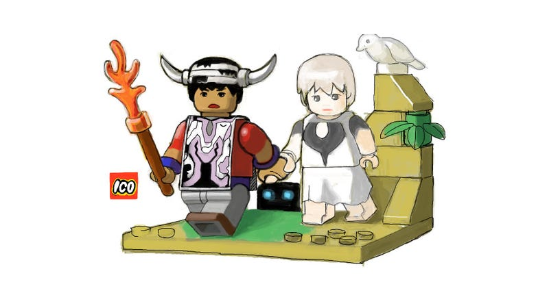 Ico LEGO? It's a Dream, but a Beautiful One