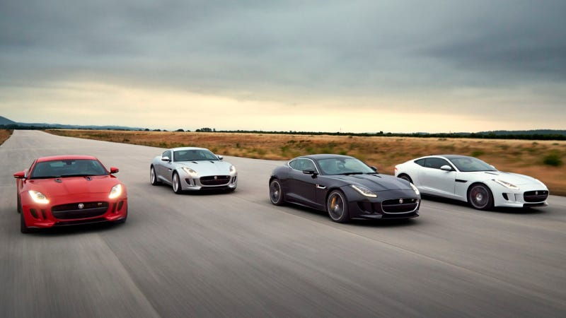 Jaguar F-Type Coupe Joins Jaguar lineup