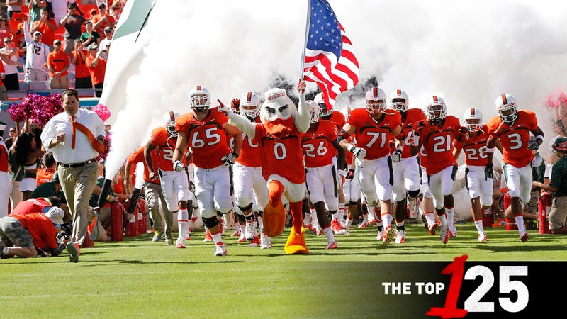 How Miami Got Away With It: 125 FBS Teams, Ranked