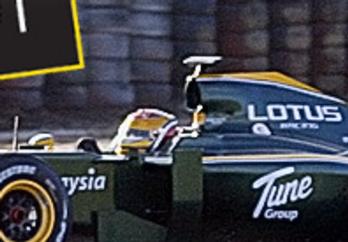First Lotus F1 Car In Fifteen Years Spied Lapping Silverstone