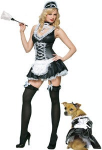 Will Your Dog Be Halloween-Sexy Tonight?