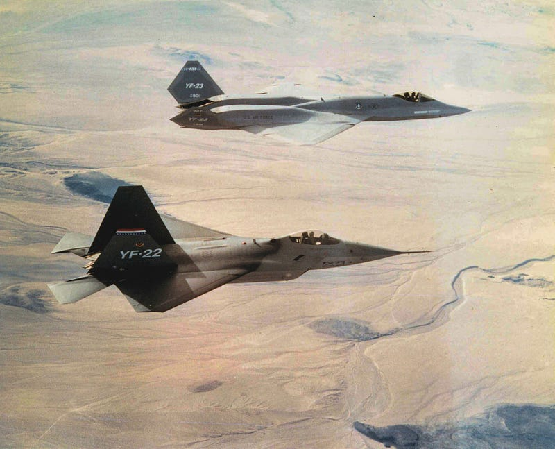The Air Force Prototype Fighter That Was Just Never Quite Good Enough