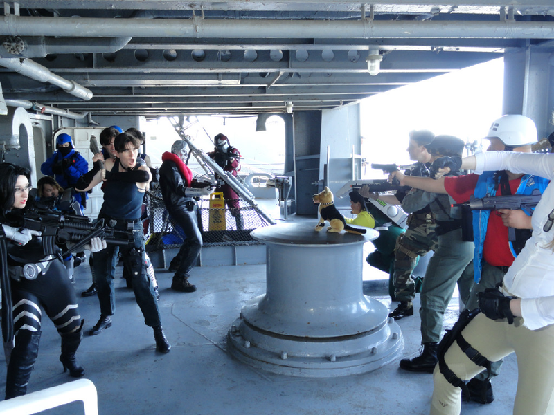 Seriously Amazing (and Funny) G.I. Joe Cosplay on a Real Aircraft Carrier