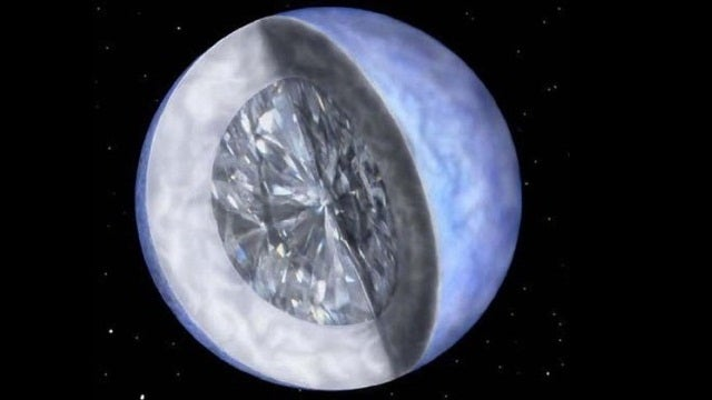The galaxy could be full of diamond planets