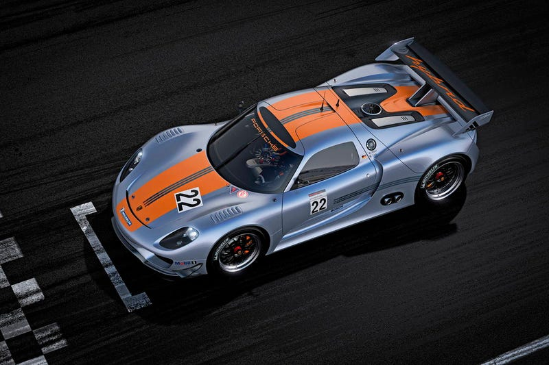 Porsche 918 RSR Gallery