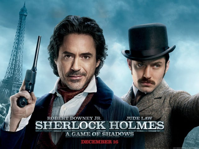 Sherlock Homes: A Game of Shadows Posters