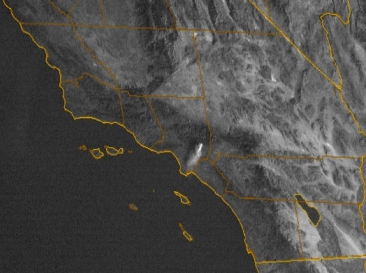 Impressive images of the California wildfire