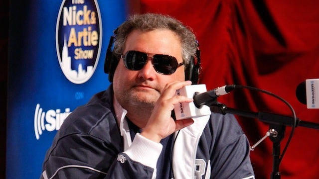 Artie Lange Snorted Vicodin And Drank Some Whiskey Before Torching Joe Buck's HBO Show
