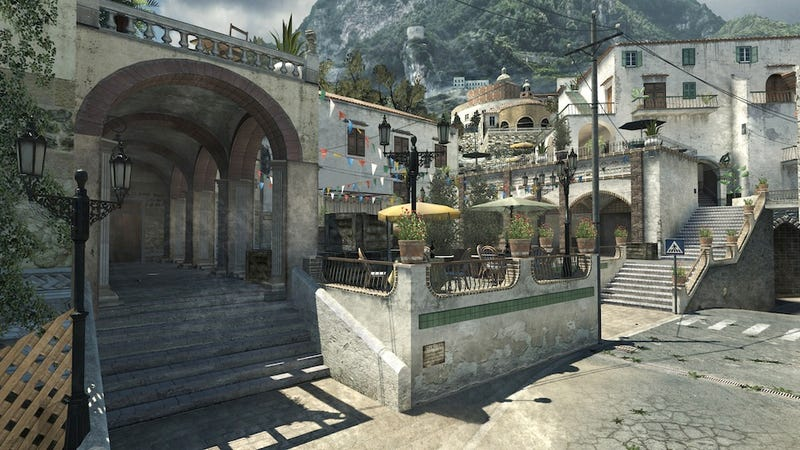 The Piazza Multiplayer Map