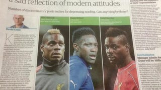 Paper Decries Racism In Soccer, Has Trouble Telling Black Players Apart