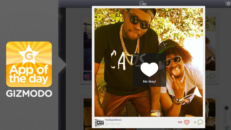Iris App: View Your Instagrams on Your iPad