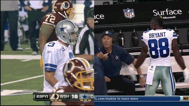 You Can Get Away With Acting Like Dez Bryant If You're Tony Romo