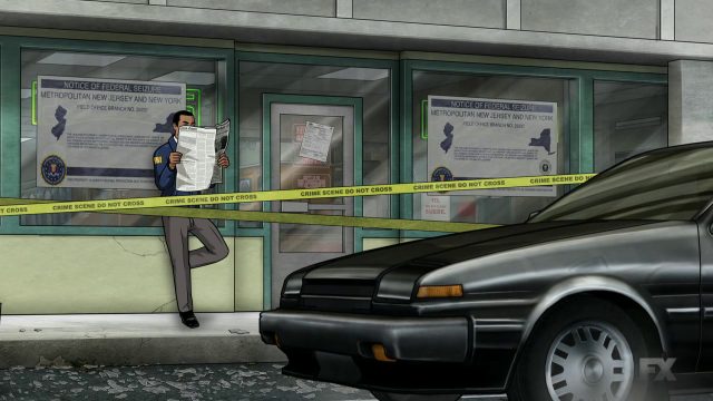 A Minor Car-Related Error On the Latest Archer Episode