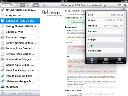 iPad Apps Oct 22