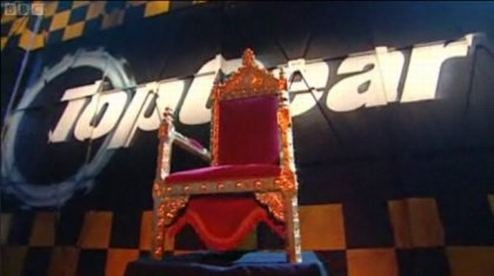 """Top Gear Unveils """"Throne Of Gratitude,"""" Honors UK Anti-Speed Camera City Councilman"""
