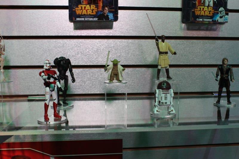 The Origin of Darth Vader: The New Star Wars Figures at Toy Fair