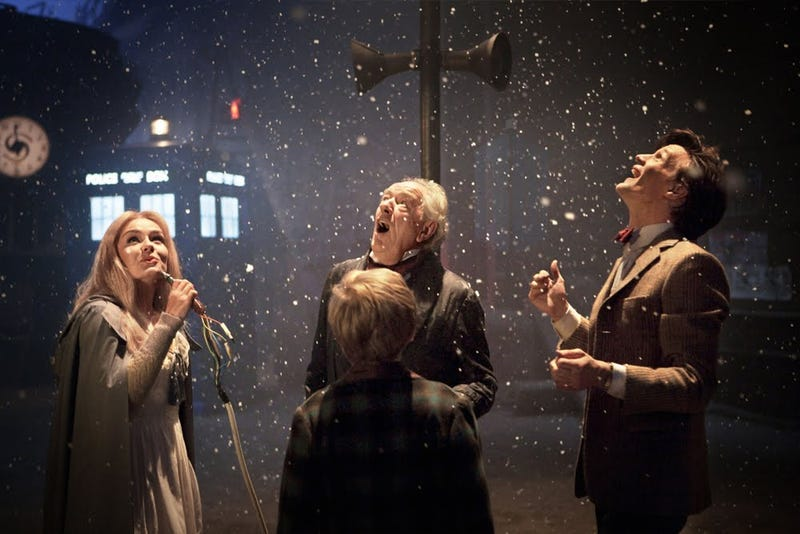Doctor Who Christmas Special promo pics