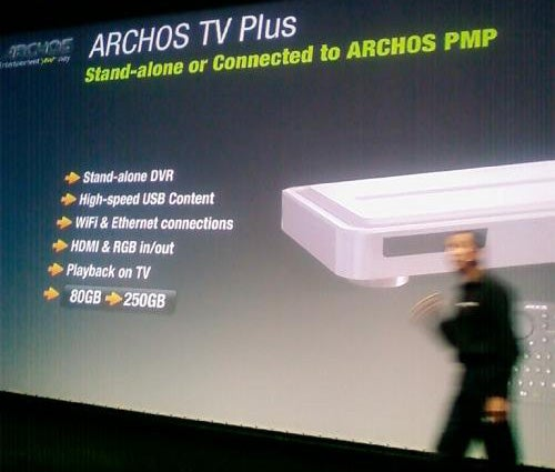 Archos TV Plus Also Downloads Movies, Surfs the Web