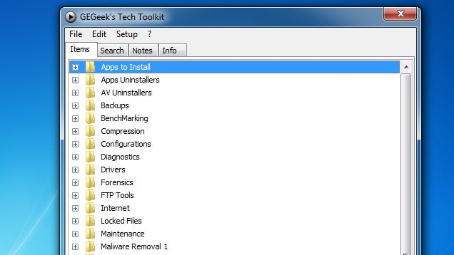 GEGeek Tech Toolkit Fixes Windows Computers and Updates Itself