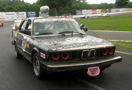 Very Long Day of Racing Over, BMW 528e Leads
