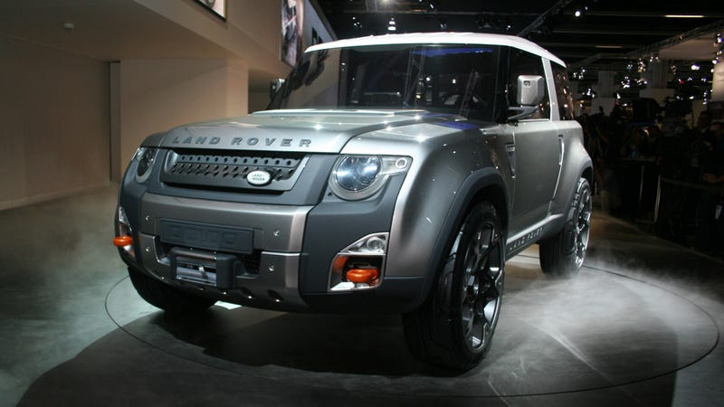 Land Rover DC100: This is the Land Rover Defender that made love to an Evoque