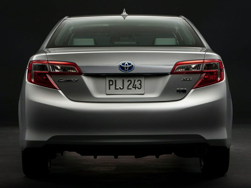 If the Camry was RWD